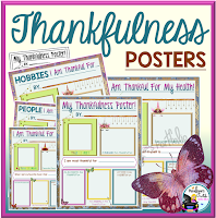 Thankfulness Posters