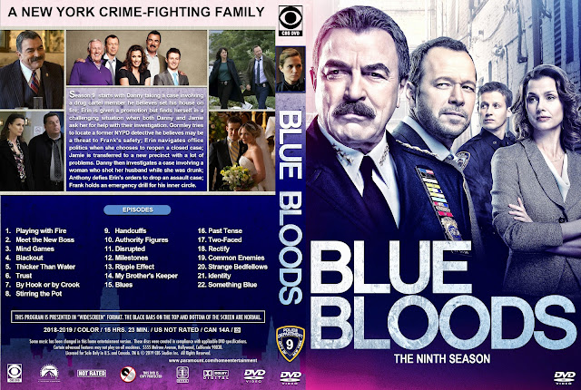 Blue Bloods Season 9 DVD Cover DVD Cover