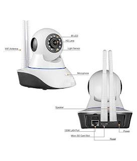 V380 HD 720P Night Vision Wireless WiFi CCTV Camera