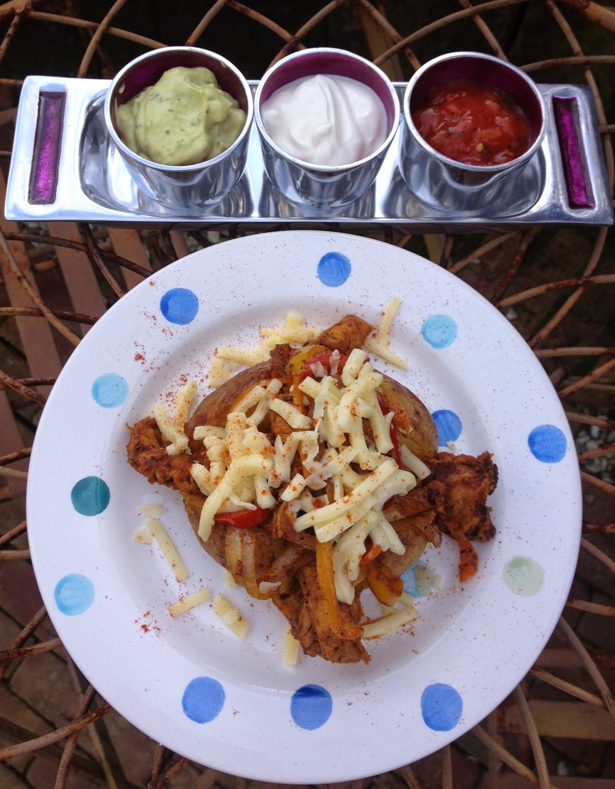 Bannisters' Farm Littl'uns Fajitas Chicken Fajita Baked Jacket Potatoes