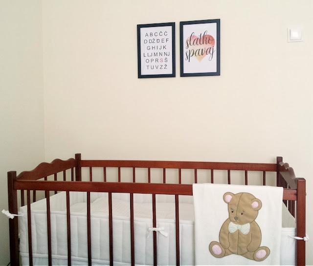 Dječji krevetić u zajedničkoj sobi