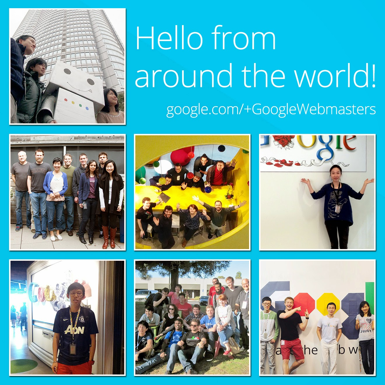 Google Webmasters from around the world