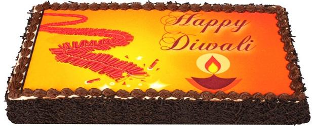 Online Cakes In Indirapuram    Special Cake On Diwali   Mr. Brown