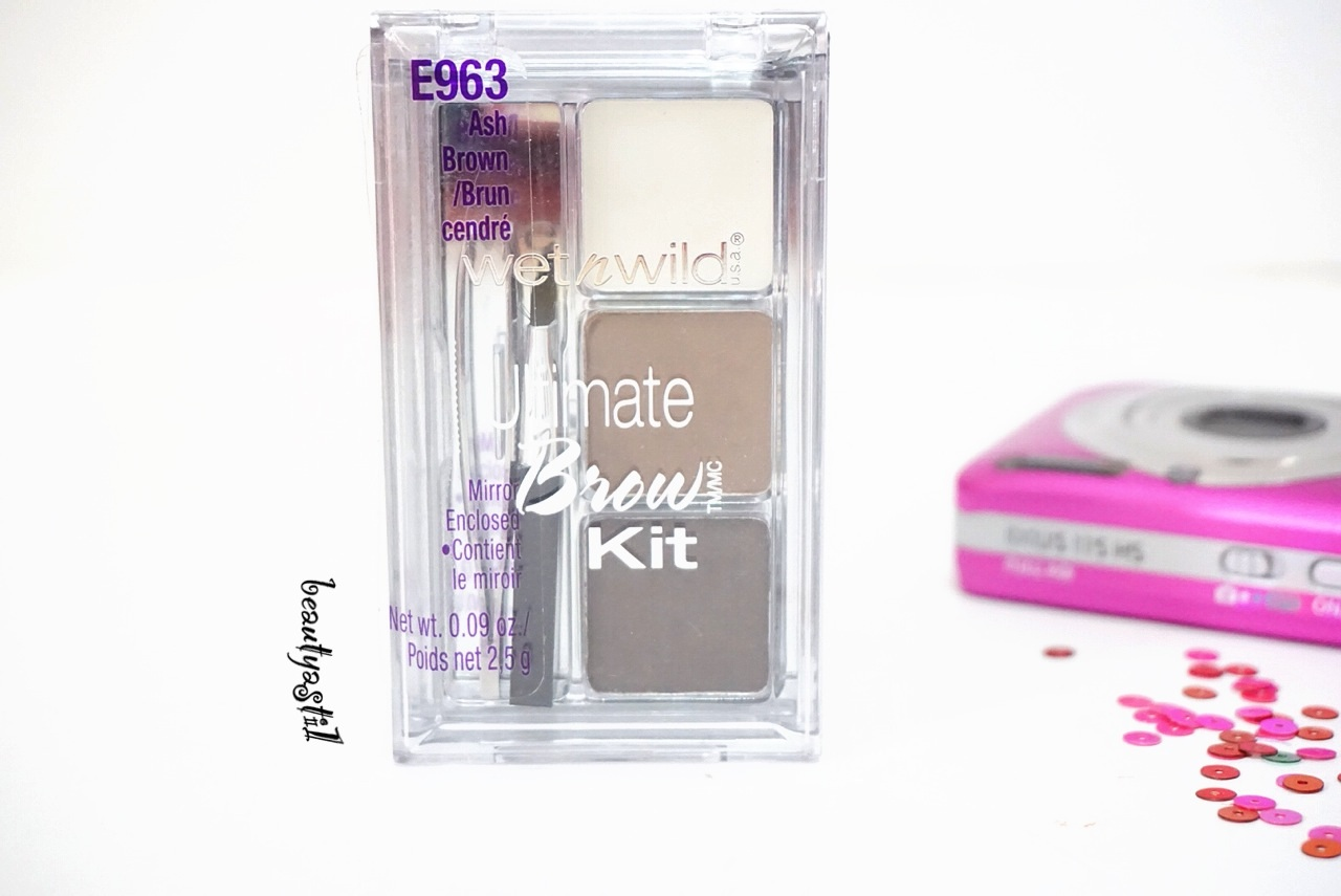 Wet N Wild Ultimate Brow Kit E963 Review Beautyasti1 Ash Brown