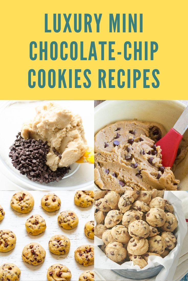 Luxury Mini Chocolate-Chip Cookies Recipes