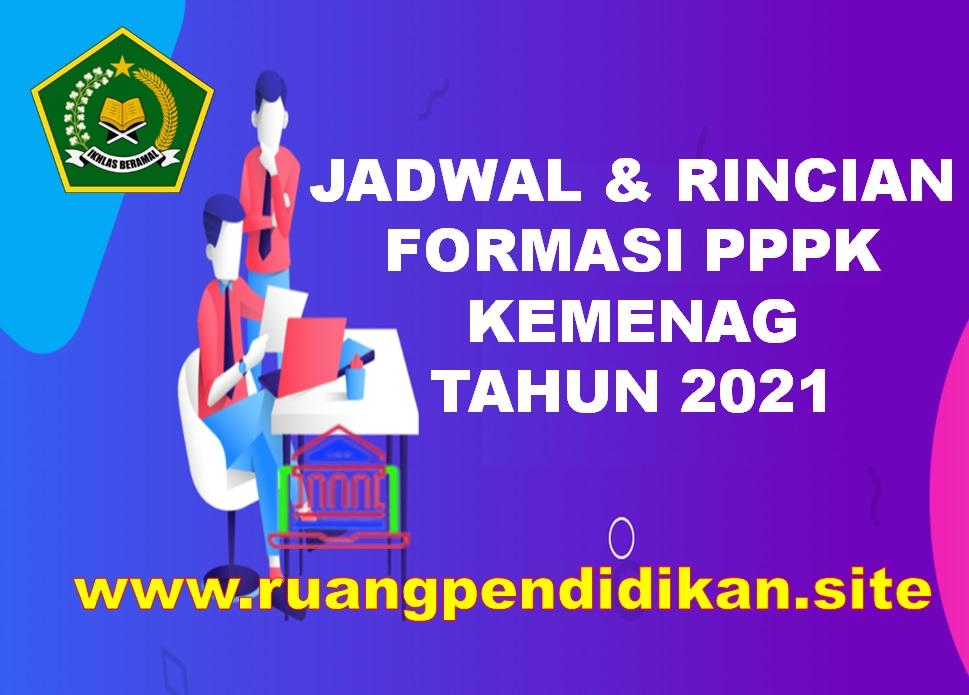 Jadwal Dan Daftar Rincian Formasi PPPK