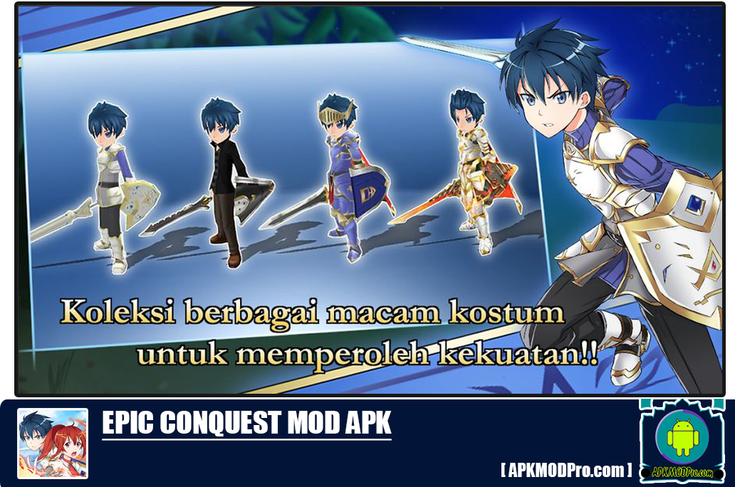 Download Epic Conquest MOD APK 5.8c [Unlimited Money] Terbaru 2020