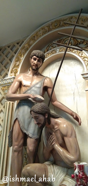 Baptism of Jesus in Our Lady of Sorrows Church in Pasay