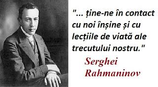 Citatul zilei: 1 aprilie - Serghei Rahmaninov
