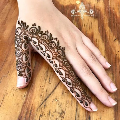 40 Latest Eid Mehndi Designs To Try In 2019 Bling Sparkle