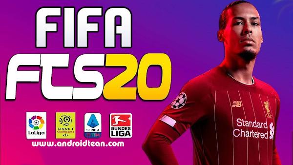 FTS 20 Mod FIFA 2020 Offline APK +OBB Data Unlilmited Money Download