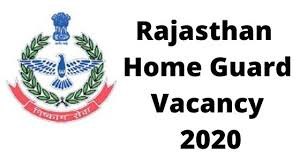 Home Guards Dept, Rajasthan Recruitment 2020 – Apply Online for 2500 Home Guard Posts