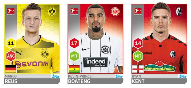 Oscar Wendt Sticker 200 TOPPS Bundesliga 2017//2018