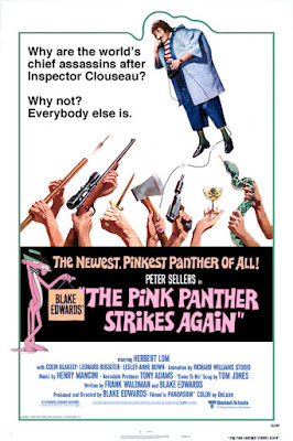 The Pink Panther Strikes Again Poster