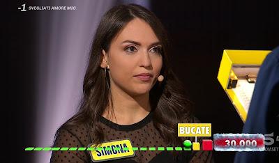 Simona concorrente vince 30 mila euro ad Avanti Un Altro 23 marzo