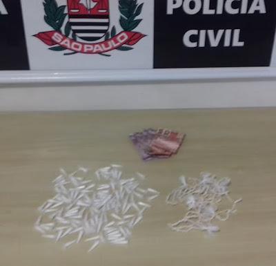 Polícia Civil prende três traficantes de drogas em Registro-SP