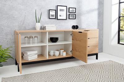 komody Reaction, interiérový nábytek, nábytek do jídelny