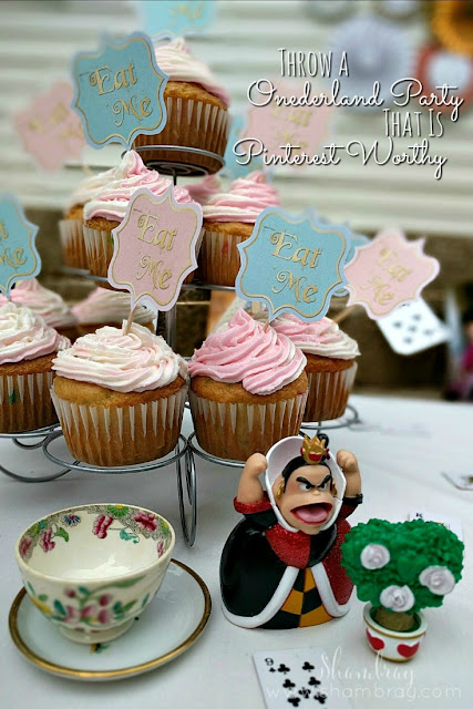 Great ideas for an Alice in Onederland (wonderland) first birthday.