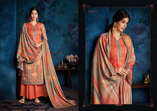Sargam Print Ruhani Pashmina Winter Collection In Wholesale Rate