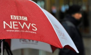 BBC News umbrella