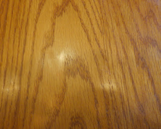 Paint marks gone from table