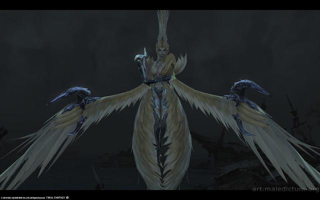 Final Fantasy XIV: миловидная Сирена