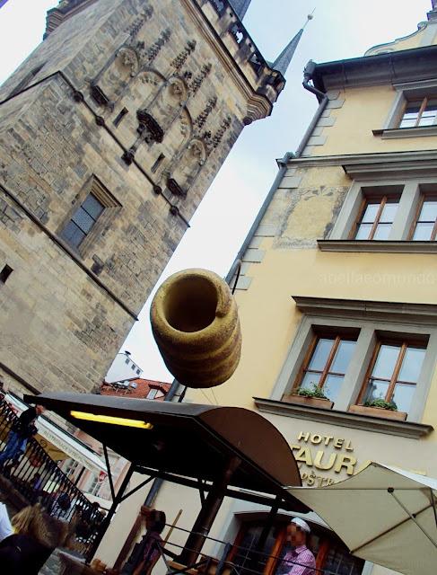 roteiro doce de Praga - A Bella e o Mundo - Trdelnik