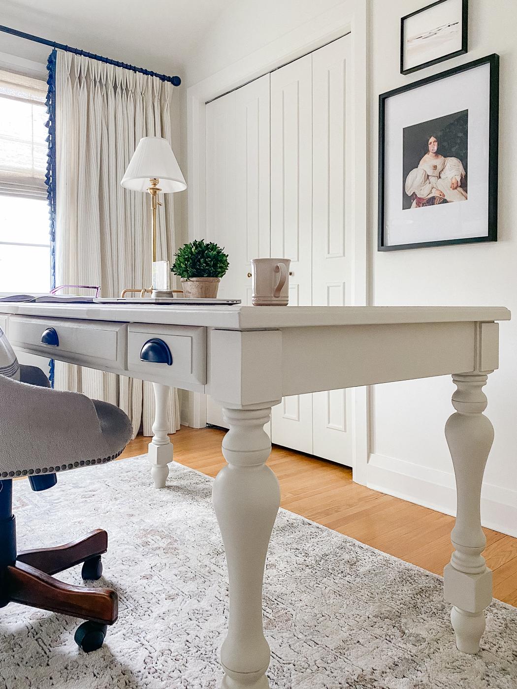 jolie paints gesso white and swedish grey, jolie paints low lustre varnish