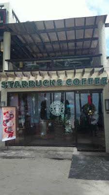 Starbucks Boracay