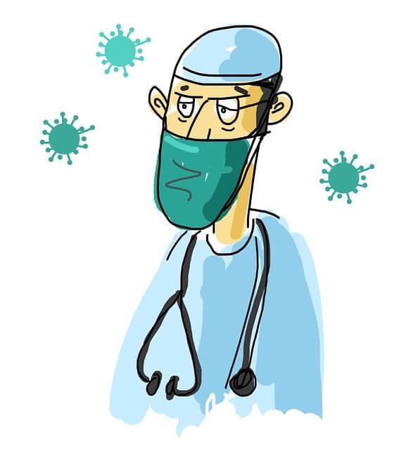 القلق الناتج عن انتشار الامراض و الفيروسات