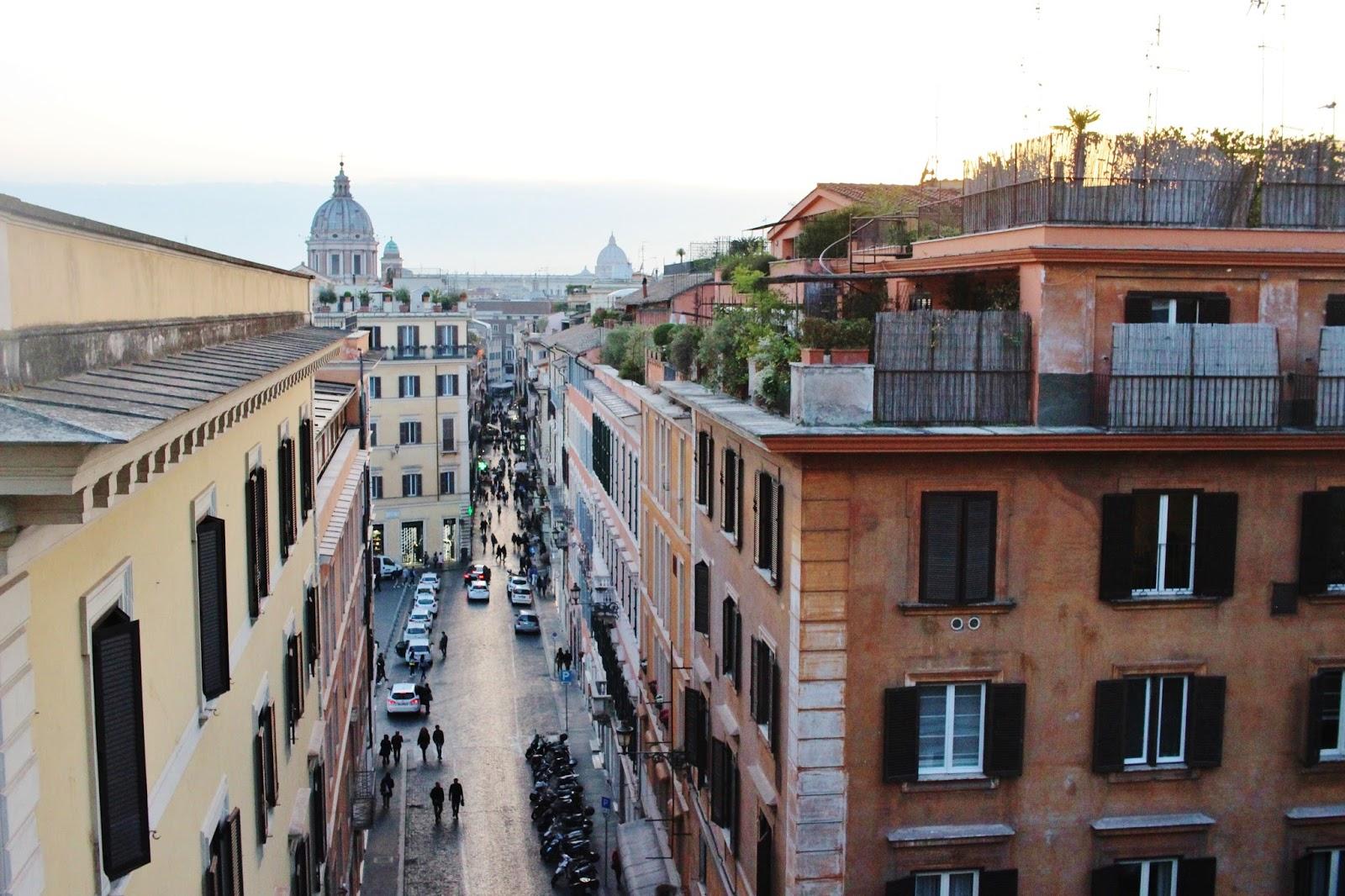 tejados de roma