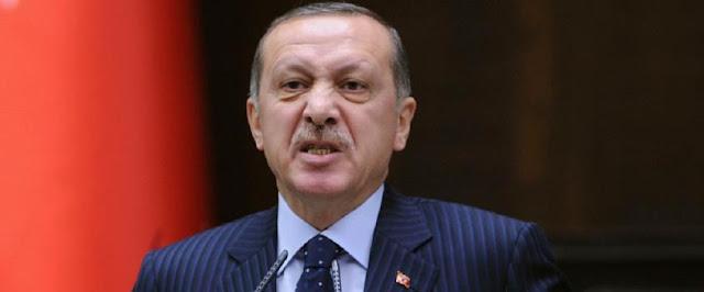 Δείγματα παράνοιας και ισχυρού πανικού στον Ερντογάν