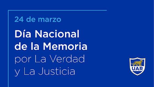 Homenaje de la UAR a las víctimas de la dictadura