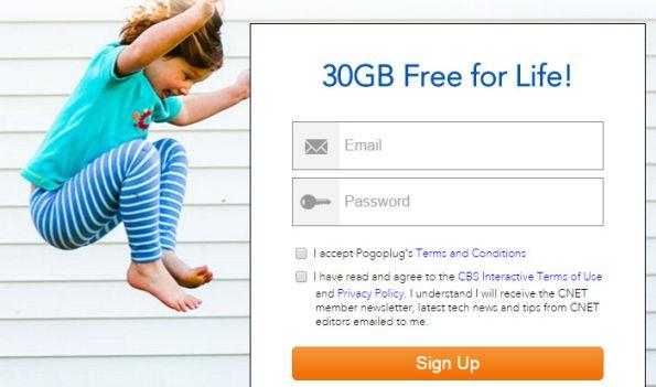 free cloud storage Pogoplug promo