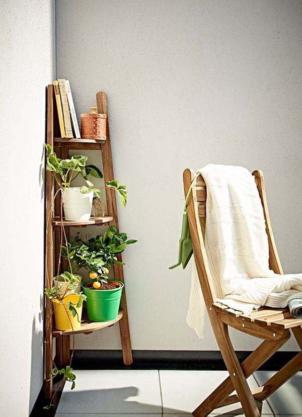 Ideas For Taking Advantage of Space in Small Balconies 7