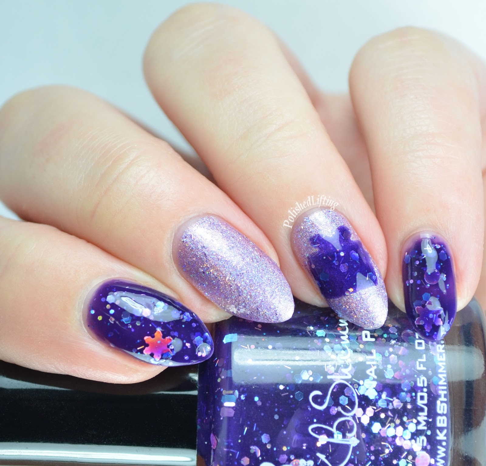 Polished Lifting: Christmas Gifts Nail Art Featuring KBShimmer and ...