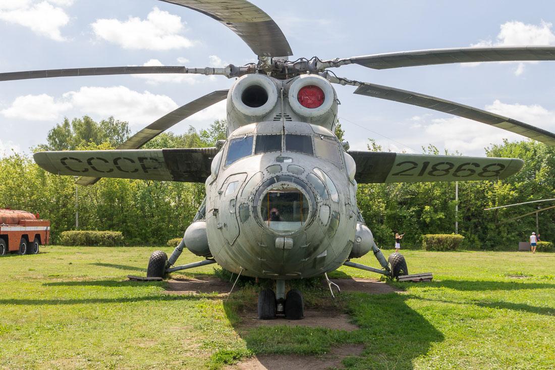 Вертолёт Ми-6 вид спереди