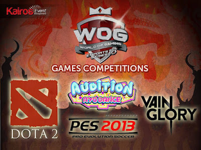 game competition at World Of Gaming eSport Series 1.3