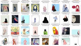 koleksi database foto profil muslim cantik