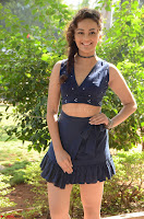 Seerat Kapoor Stunning Cute Beauty in Mini Skirt  Polka Dop Choli Top ~  Exclusive Galleries 002.jpg