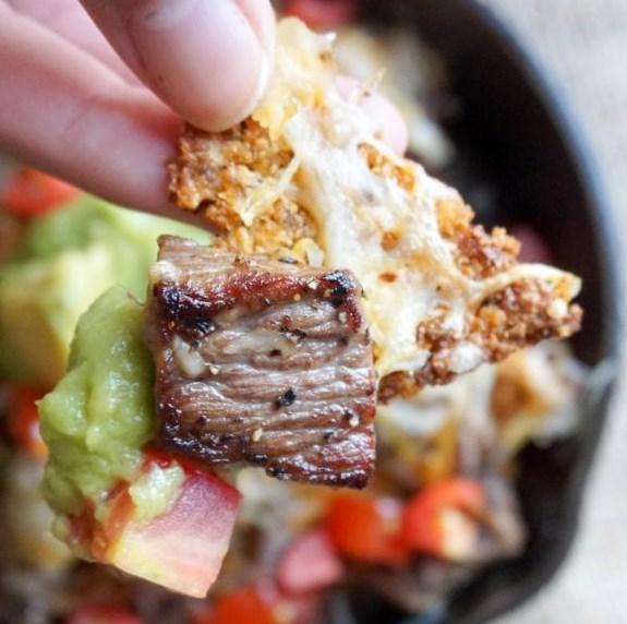 Pork Rind Nachos #ketodiet #healthy