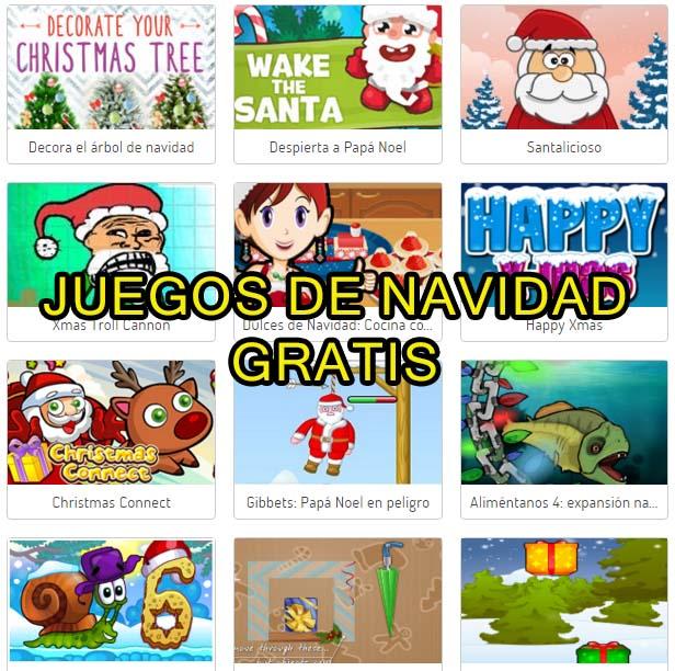 Juegos Navidenos Online Cientos De Juegos Gratis Educar Y Motivar