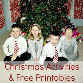 Christmas activities and free printables for kids.