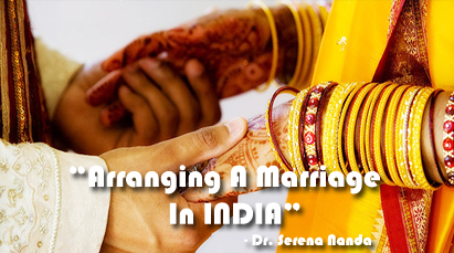 Arranged marriages. Research Paper - 1996 Words