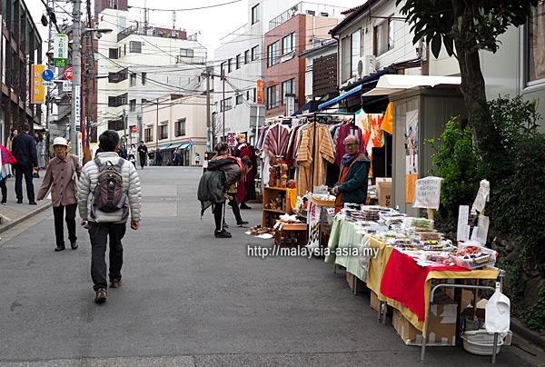 Street Vendors Yanaka Ginza