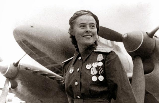 Yekaterina Budanova, fighter ace of World War II worldwartwo.filminspector.com