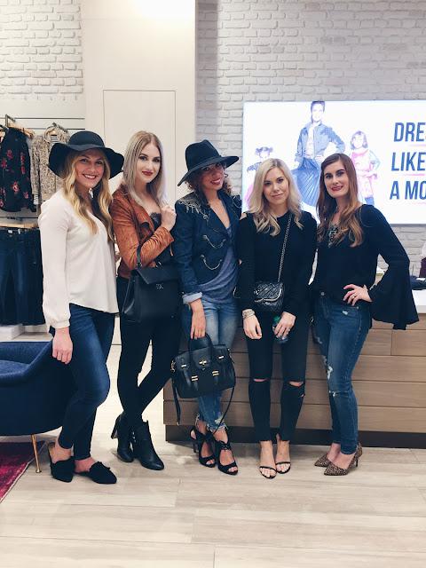 OKC Blogger Girls at Evereve Grand Opening