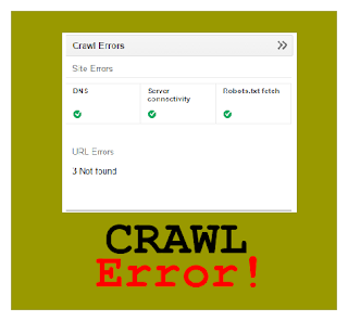 Mengatasi Crawl Error