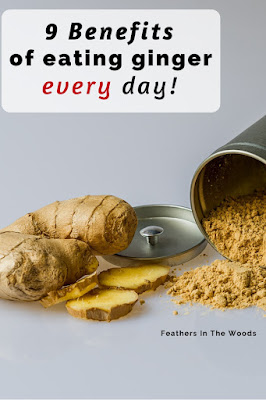 ginger powder or tea for daily consumption