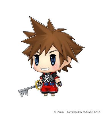 Sora World of Final Fantasy ZonaHype